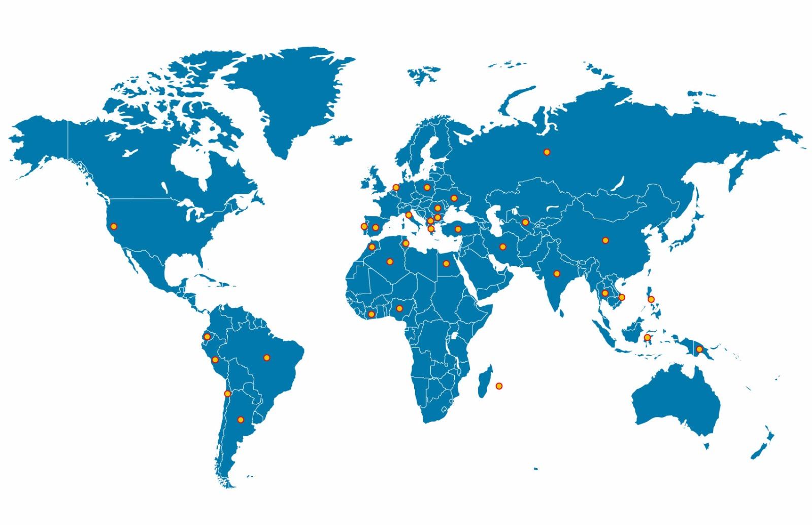Ma.Pr.I.Com. - cartina mondo